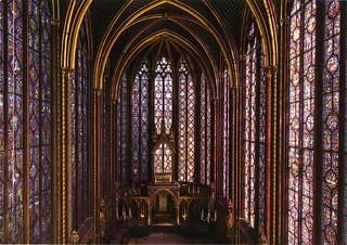 postcard - Sainte-Chappelle, Paris