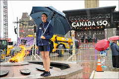 The French Language Tour is about to Start (Dan Dewan) Tags: portrait canon7dmarkii street canada150 canon colour girl june thursday parliamenthill water woman lady ontario canonefs18135mm13556is dandewan rain 2017 ottawa