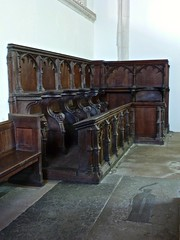 Arundel Castle - The Fitzalan Chapel - Choir Stalls and Misericords (Glass Angel) Tags: choirstalls misericords woodcarvings arundelcastle fitzalanchapel sussex
