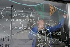 Chris_venstertekenen_DSC_0282 (Chris Perdieus) Tags: chrisper kruisstraat niels fietsenwinkel venstertekenen venstertekening