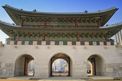 Gyeongbokgung Palace, South Korea (cattan2011) Tags: building architecture traveltuesday travelbloggers travelphotography travel seoul southkorea gyeongbokgungpalace ancient palaces streetpicture streetphoto streetphotography streetart landscapephotography landscape