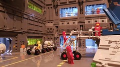 Pass me a hammer, Dave. (Heiwa71) Tags: lego space hangar