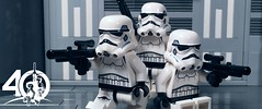 8. Stormtrooper Elite Squad (kyle.jannin) Tags: lego legostarwars starwars stormtroopers deathstar hallway episode iv a new hope star wars 40 anniversary celebration