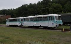 25.06.17 Seebad Heringsdorf 771.007 and 771.065 (philstephenrichards) Tags: germany userdomerbaderbahn ubb seebadheringsdorf class771 ferkeltaxe usedom