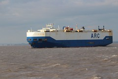 Resolve passing Portishead Point 22nd June 2017 (Portishead Point) Tags: resolve