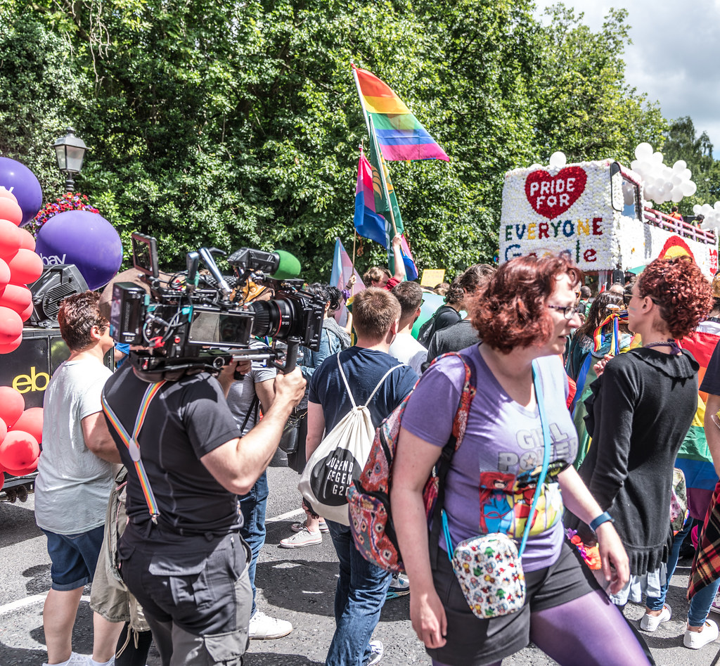 LGBTQ+ PRIDE PARADE 2017 [STEPHENS GREEN BEFORE THE ACTUAL PARADE]-129786