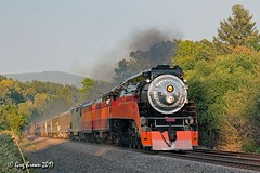 Here it is (C.P. Kirkie) Tags: southernpacific sp sp4449 daylight 484 4449 steamlocomotive steamtrain excursiontrain