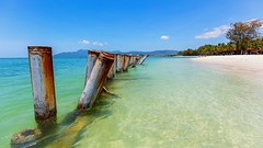 At the beach in Langkawi (Juergen Huettel Photography) Tags: jhuettel langkawi beach malaysia blue water nature sea