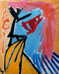 Wuman1 (Zntt) Tags: oil canvas oilpastel oiloncanvas oilpainting colors color hardcolors white black blue red yellow atelier beaty bella happy woman mulher donna amarelo azul verde vermelho pintura painting life karma dharma work joy home studio fineart cubism contemporany modern modernart