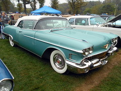 1958 Cadillac Eldorado Biarritz Convertible (splattergraphics) Tags: 1958 cadillac eldorado biarritz convertible carshow aacaeasterndivisionfallmeet antiqueautomobileclubofamerica hersheypa