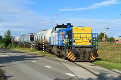 LC 1505 + keteltrein (Durk Houtsma.) Tags: vlaardingen ermewa 1505 vopak vdg gatx g1206 locon zuidholland nederland nl