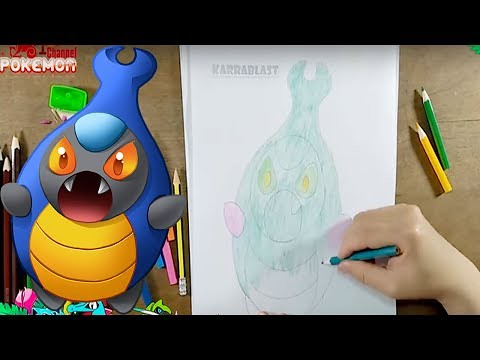 How To Draw Cute Cartoon POKEMON Color Paint Coloring Pages And Learn Colors Live