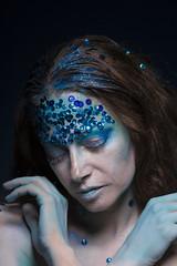 -MERMAID- (Sebasthian_Iturriaga) Tags: mermaid woman blue bluewoman hair portrait newyork manhattan sea ocean mermaids under underocean onder photography photographer model magazine fashion fashionmodel fashionphotography