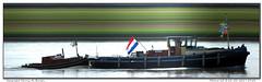 Meeuw 10 (Morthole) Tags: slitscan ship boat schip boot barge binnenvaart schiff rheinschiff meeuw10 sleepboot tugboat tug schlepper remorqueur