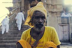 Kahurajo 2 (rokobilbo) Tags: khajuraho india man people color customs street travel life