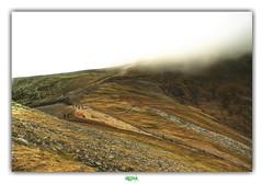 VAINES SILHOUETTES (régisa) Tags: mount snowdon mont wales cymru galles snowdonia mist brume