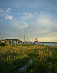 Leland Harbor (SimplyCMB) Tags: leland marina harbor boat dock michigan leelanau upnorthmichigan northbeach dunegrass beach summer sunset whaleback
