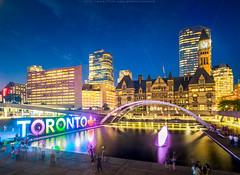 Toronto old city hall at dusk, 2017 (naibank) Tags: toronto cityhall reflection canada150 oldcityhall