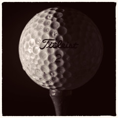2017-181 A Good Walk Spoiled (Darren Wilkin) Tags: macromondays relaxation golf golfball macro mono oneaday 365