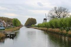 Damse Vaart (Brian Aslak) Tags: damme westvlaanderen vlaanderen flanders flandre belgië belgique belgium europe damsevaart canal windmill village