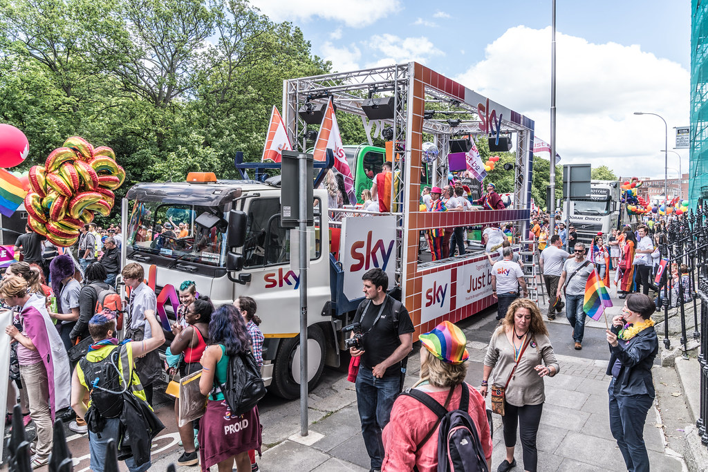 LGBTQ+ PRIDE PARADE 2017 [STEPHENS GREEN BEFORE THE ACTUAL PARADE]-129954
