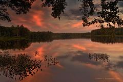 JW_GreenwoodPond_07_06_17_45 (HarrySchue) Tags: greenwoodpond kingstonnh sunset pond serene waterscape landscape nature nikon d800e rrs