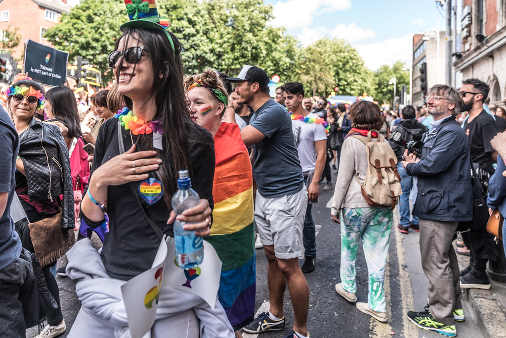 LGBTQ+ PRIDE PARADE 2017 [ON THE WAY FROM STEPHENS GREEN TO SMITHFIELD]-130160