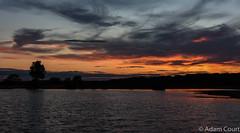 Sicario Sky (adam.court89) Tags: pond sunset glow reflection distortion sky dusk evening nikon d7200 18105