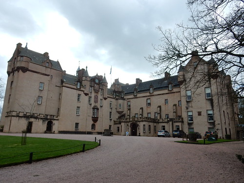 Another view of Fyvie Castle