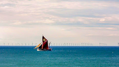 Wind catching (David S Baxter) Tags: cromer england unitedkingdom gb norfolk windfarm sea energy power