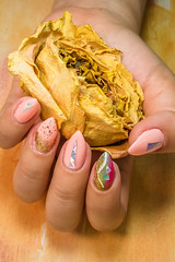 Nail art (aNdy Vo) Tags: nail art flower japenese inspired hand human girl lady beautiful photography photographer photooftheday lightroom canon g7xii yellow