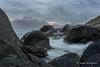 Lofoten_3_morgon-57.jpg (Hanna Blomqvist) Tags: norway beach sand lofoten waves myrland hills rocks clouds sea