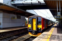 East Midlands Trains 153376 - Liverpool South Parkway (North West Transport Photos) Tags: emt eastmidlandstrains class153 153 153376 dogbox sprinter lpy liverpool liverpoolsouthparkway liverpoollimestreet norwich 1l11 158 class158 train dmu dieselmultipleunit railway