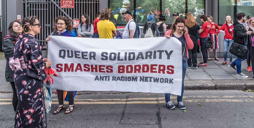 LGBTQ+ PRIDE PARADE 2017 [STEPHENS GREEN BEFORE THE ACTUAL PARADE]-129879