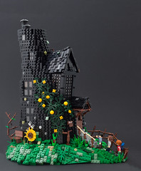 Lovegood House (Brick Surgeon) Tags: harry potter lego harrypotter lovegood xenophelius moc deathlyhallows deathly