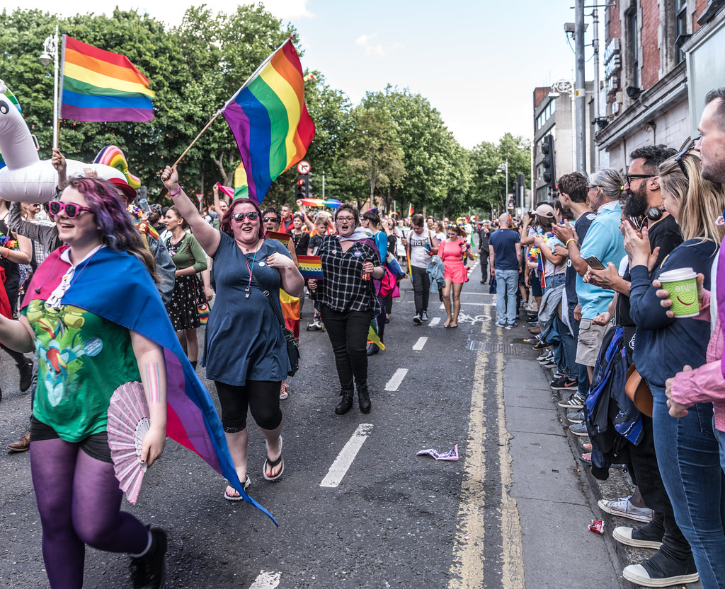 LGBTQ+ PRIDE PARADE 2017 [ON THE WAY FROM STEPHENS GREEN TO SMITHFIELD]-130012