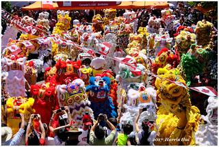 The 75 Lions Celebrate Canada 150 - Chinatown XP6701e