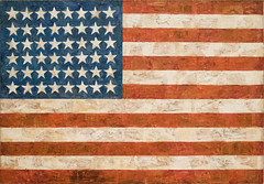 Flag, 1954 (Jonathan Lurie) Tags: oil painting encaustic art museums modern moma new york city johns museum jasper artmuseum artinmuseums jasperjohns modernart museumofmodernart newyorkcity newyork oilpainting unitedstates us