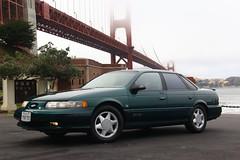 1994 Ford Taurus SHO (Jason Wollenweber) Tags: ford taurus sho sedan car vehicle 1994 golden gate bridge san francisco
