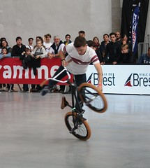 Riding Indoor Show Brest 2017 (EricFromPlab) Tags: bretagne finistère brest flat capucins breizh brittany freestyle rider jump bmx