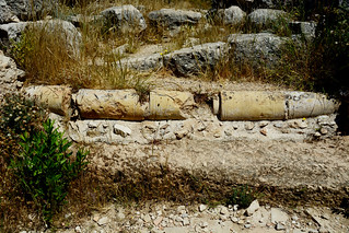XANTHOS  Ancient City. KINIK/Turkey. Unesco  World Heritage List. Ancient Pipe