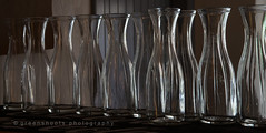 Empty water carafes (Keith Gooderham) Tags: copyrightgreenshootsphotography rimlight glass carafe