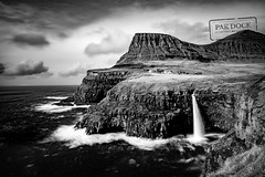 Gasadalur B&W - Faroe Islands (@PAkDocK / www.pakdock.com) Tags: 2016 adventure cliff clouds faroe faroese feroe grass grassland green island islands islas lake landmark landscape nature ocean outdoor outdoors pakdock panorama panoramic planet scotland sea sunny travel village wanderlust sky sunset water river beach rock evening monochrome seascape waterfall dawn seashore dramatic dusk scenic gasadalur blackandwhite black white longexposure long exposure