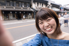 Young woman taking selfie picture in traditional Japanese town (Apricot Cafe) Tags: img42275 2529years asia asianandindianethnicities healthylifestyle japan japaneseethnicity japaneseculture kawagoe saitamaprefecture sigma20mmf14dghsmart beautifulwoman buildingexterior candid carefree charming cheerful closeup colorimage cultures day enjoyment happiness horizontal humanface lifestyles lookingatcamera oneperson onlyjapanese onlywomen onlyyoungwomen outdoors people photography selfie smiling street sustainablelifestyle tourism tourist traveldestinations waistup walking women youngadult kawagoeshi saitamaken jp