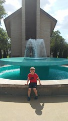 "Paul at the Fountain at the Dwight D Eisenhower Library • <a style=""font-size:0.8em;"" href=""http://www.flickr.com/photos/109120354@N07/35659140766/"" target=""_blank"">View on Flickr</a>"
