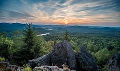 Sonnenuntergang vom kleinen Schöber - Maly Stozec (matthias_oberlausitz) Tags: maly stozec kleiner schöber lausitzer gebirge tschechien böhmen