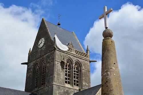 Paratrooper at Sainte Mère Église (Normandie, France 2017)