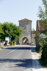 Bastde de Monpazier (doublejeopardy) Tags: bastidetown france monpazier citywall entrace fortifiedtown oportal nouvelleaquitaine fr
