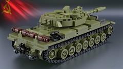 Article 64992 [2] (2che_4life) Tags: ldd lego blender mecabricks moc tank soviet wot