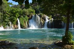 Krka (Super Mario Bros1) Tags: cascate krka fiume acqua alberi parconazionale